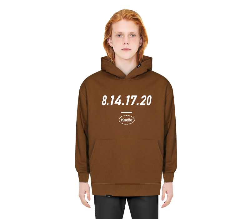 SCHOOL HOODED BROWN