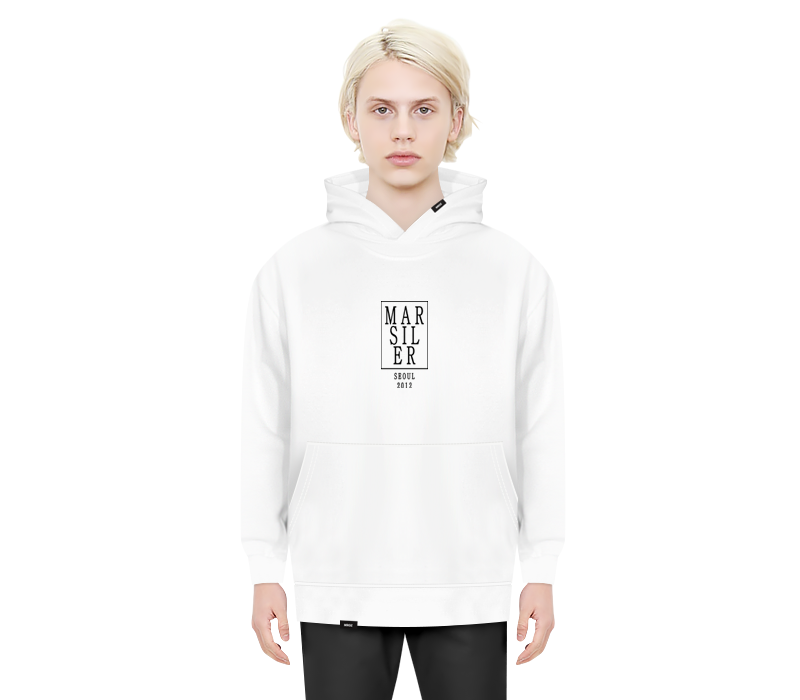 ARTDECO HOODED WHITE